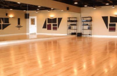 suspended spring flooring